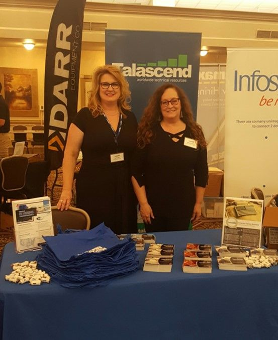 Talascend team at the start of the Fort Hood career fair
