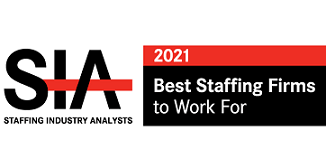 SIA Best Staffing Firms to Work For 2021